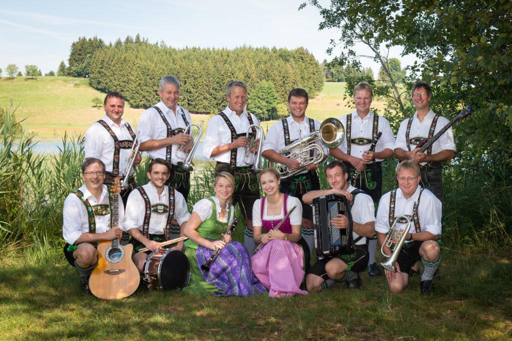 Die Alpengruß Musikanten…